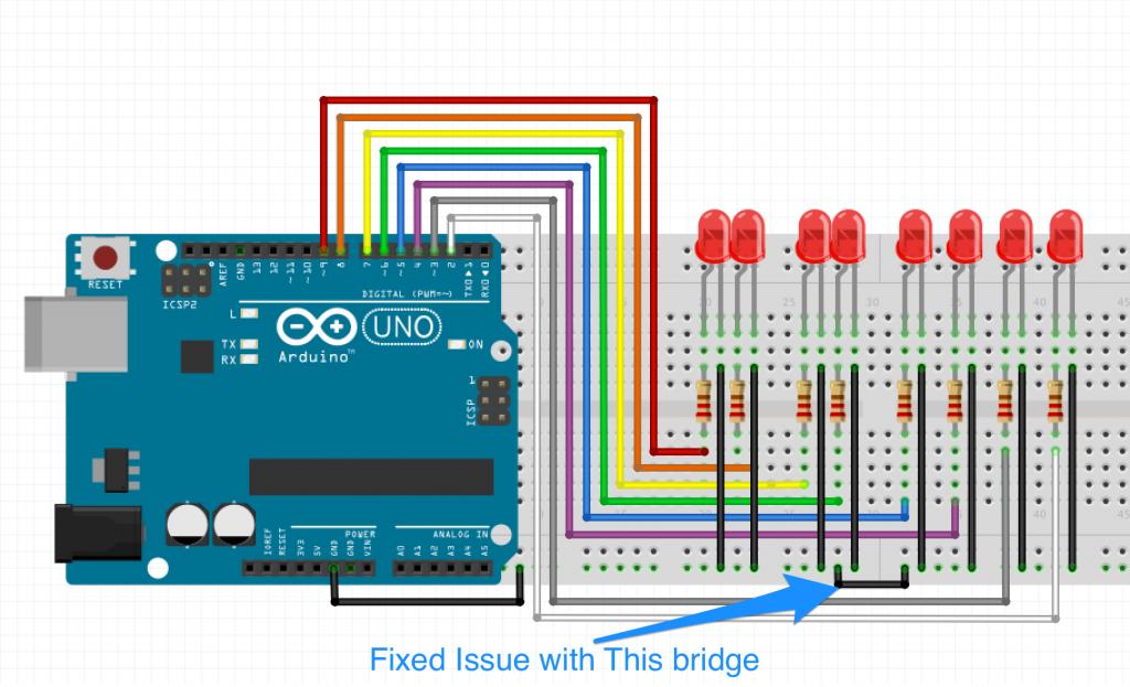 full circuit with bridge fix